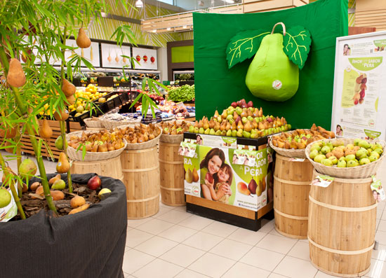 Pear display contest