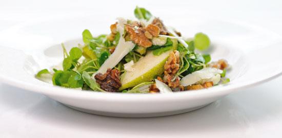 Pear Watercress Salad