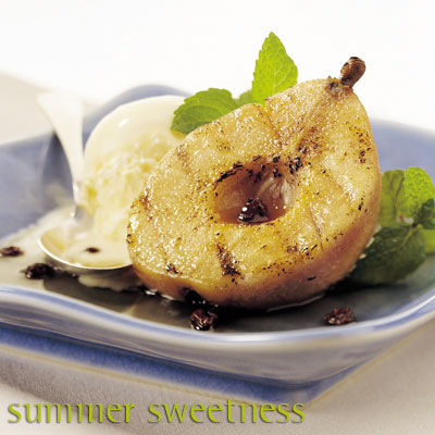grilled-pears-with-currants