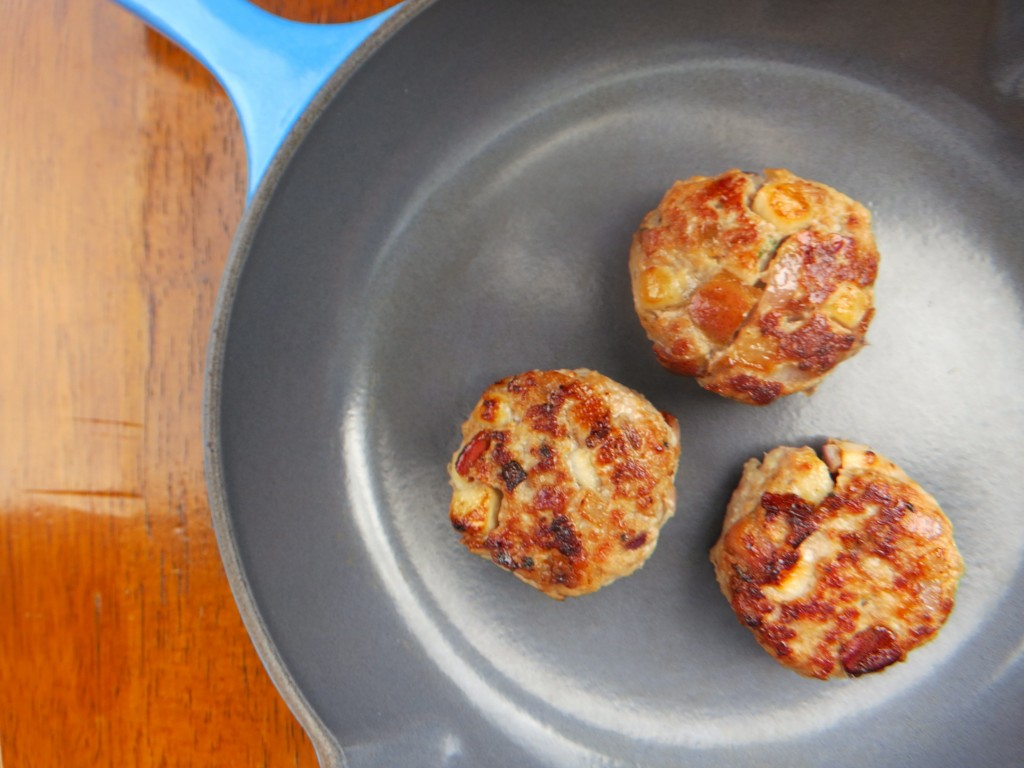 pear maple breakfast sausage
