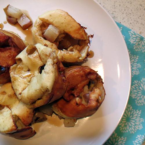 Pear Breakfast Popovers SQsm