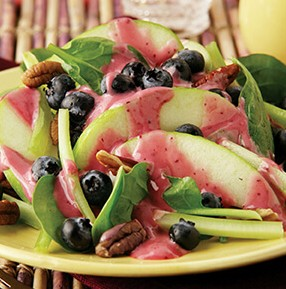 Blueberry Pear Waldorf Salad