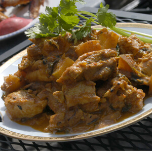 Chicken Curry with USA Pears