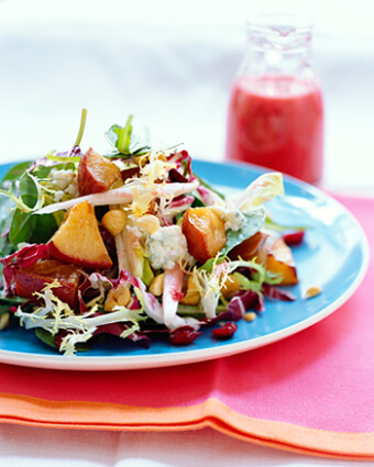 Endive Salad with Roasted Pears
