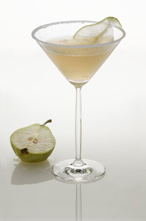 Oregon Anjou Pear Cocktail