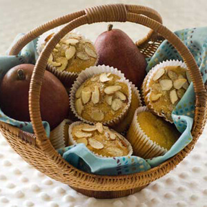 Gluten-Free Pear Muffins