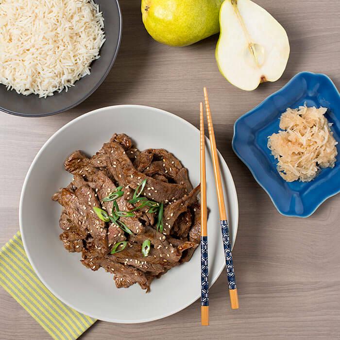 korean barbeque beef