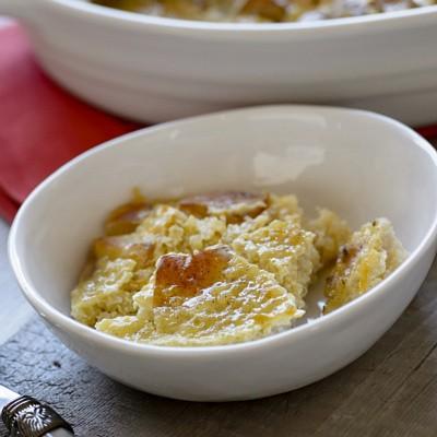 pear and quinoa custard
