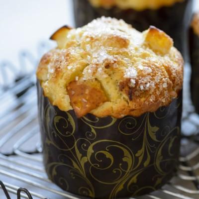 bartlett pear muffin