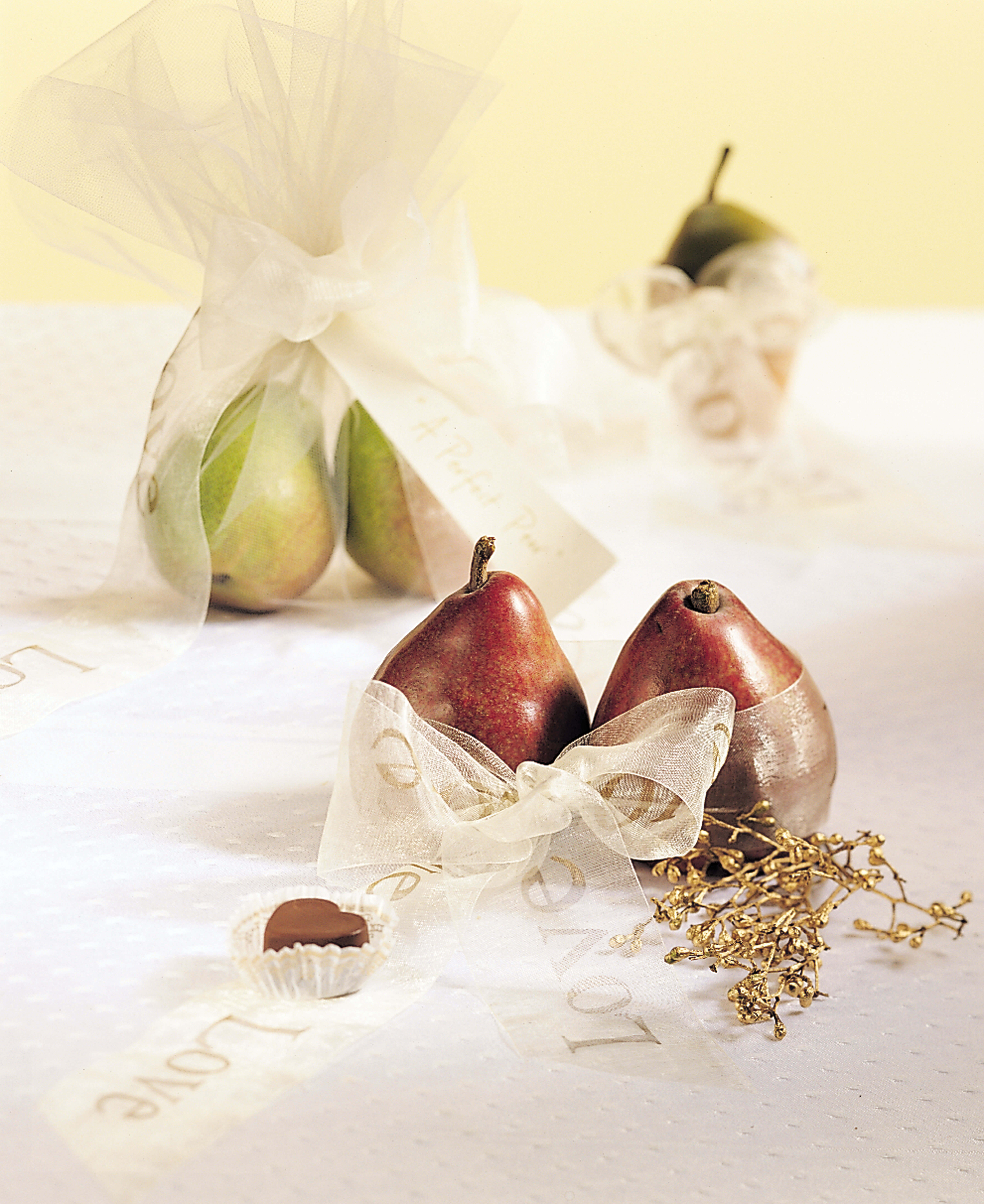 Decorating with Pears -