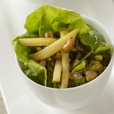 asian-pork-lettuce-wrap