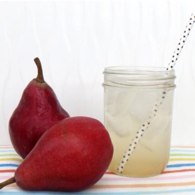 pear shrub soda