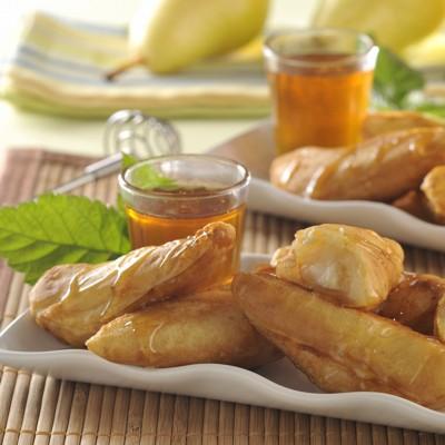 pear-bunuelos