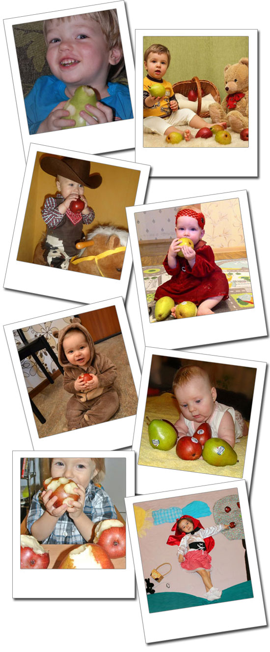 Russia Kids & Pears Contest