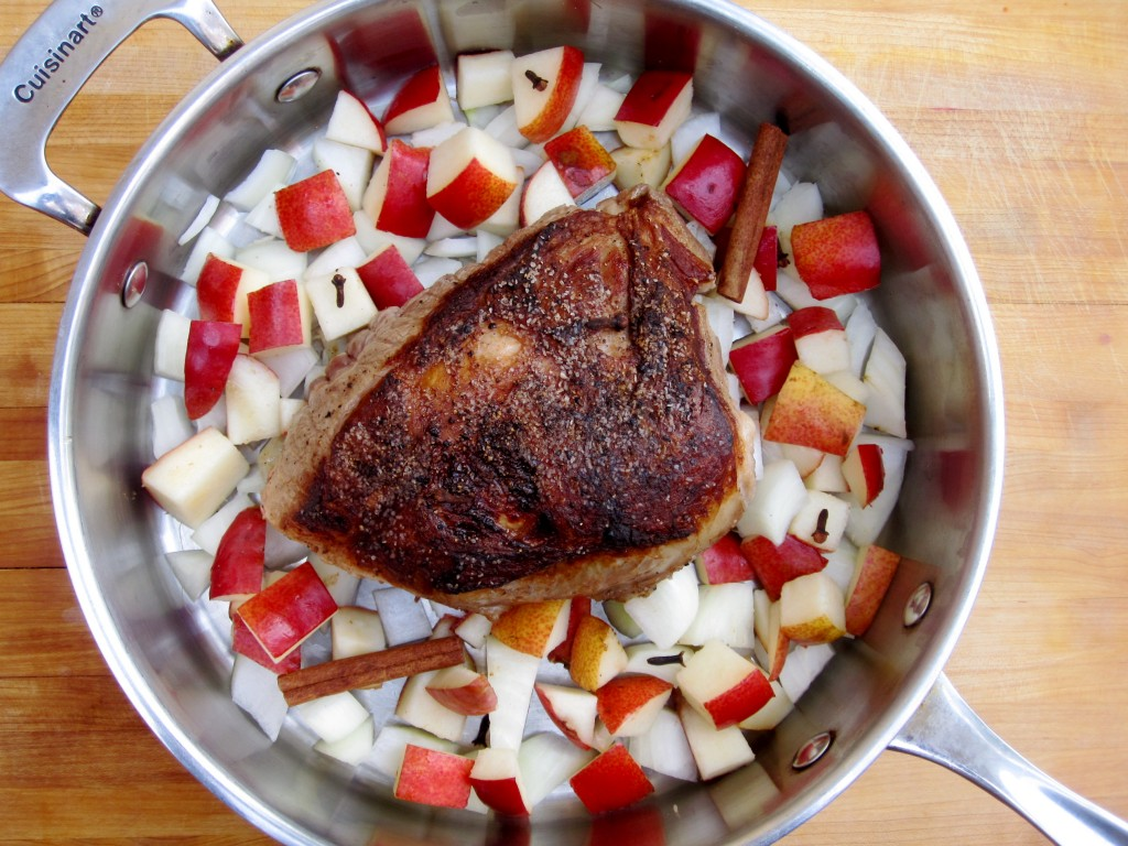 Braised Pork process shot
