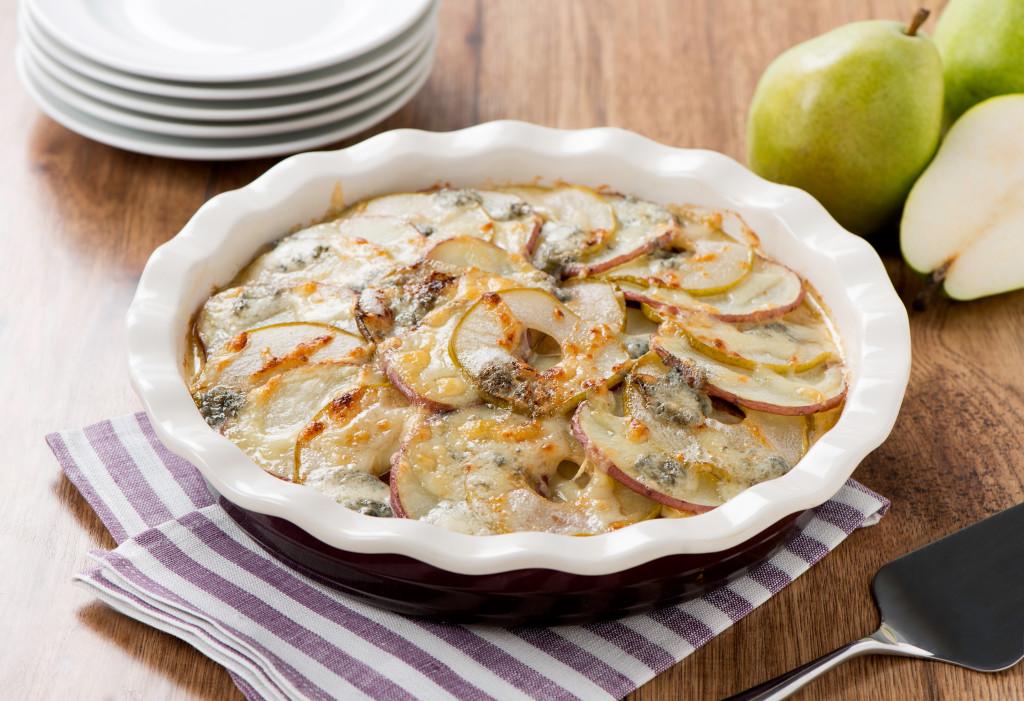 Pear Potato Gratin