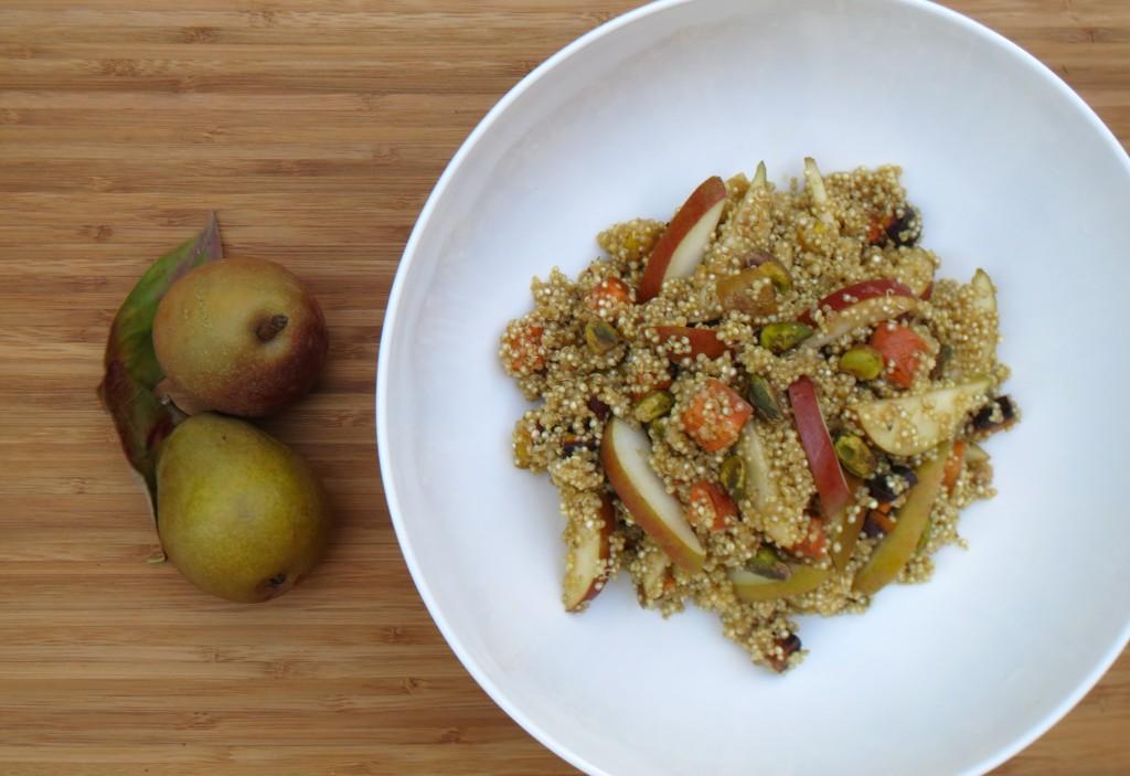 pear quinoa pilaf