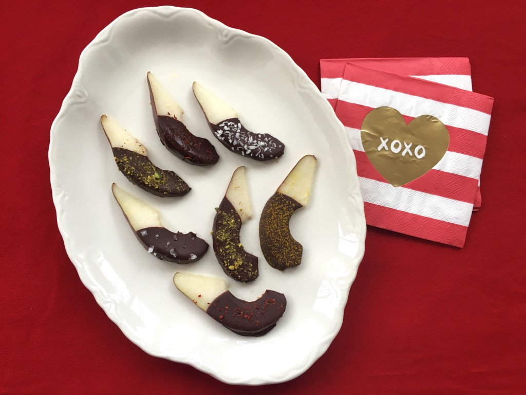 Chocolate Pears 3