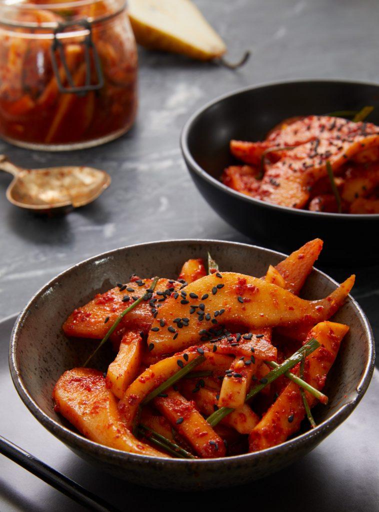 Pear Kimchi