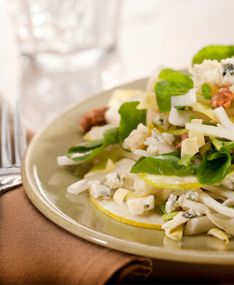 Autumn Concorde Pear Salad