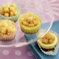 mini-chevre-cheesecakes-with-pears-in-lavender-honey