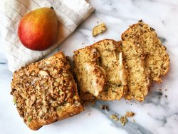 pear-granola-bread