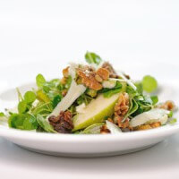 pear-and-watercress-salad-with-goat-cheese-gouda-and-walnuts