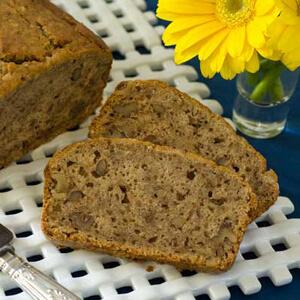 Gluten-Free Pear Bread
