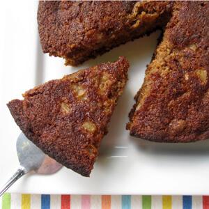 Pear Oat Cake