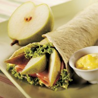 pear-and-ham-wrap-with-curried-mayonnaise