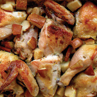 spice-roasted-chicken-and-pears