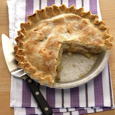 whole-wheat pear pie