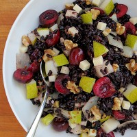 black-rice-salad-with-cherries-pears-and-gouda