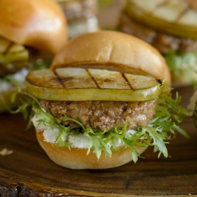 Turkey burger pear sliders easy pear recipes