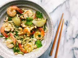 pear-and-shrimp-noodles