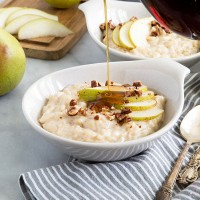pear-rice-pudding-with-maple-and-candied-pecans