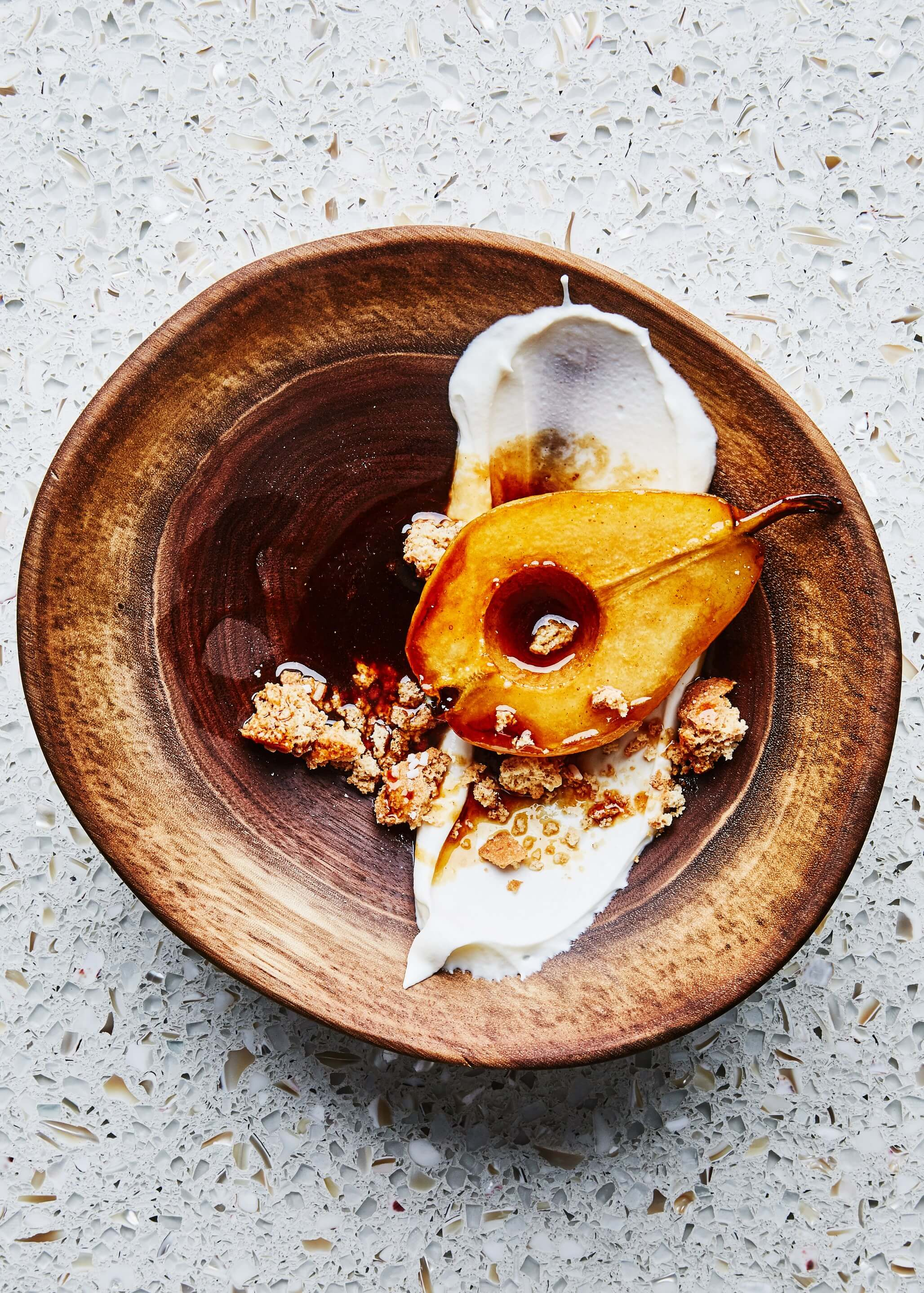 Flambéed Pears Are the Deceptively Simple Dessert of Our Dreams