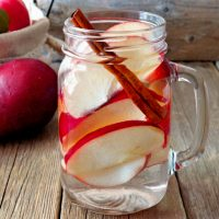 red-pear-infused-water
