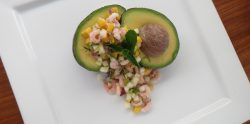stuffed-avocado-bay-shrimp-pear-mango