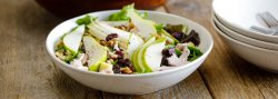 pear-and-turkey-salad-with-aged-gouda-and-walnuts