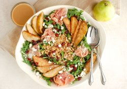 pear-salad-with-dijon-vinaigrette