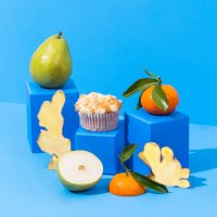 pear-ginger-and-mandarin-muffins